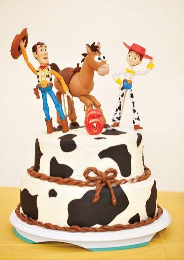 festa infantil toy story bolo
