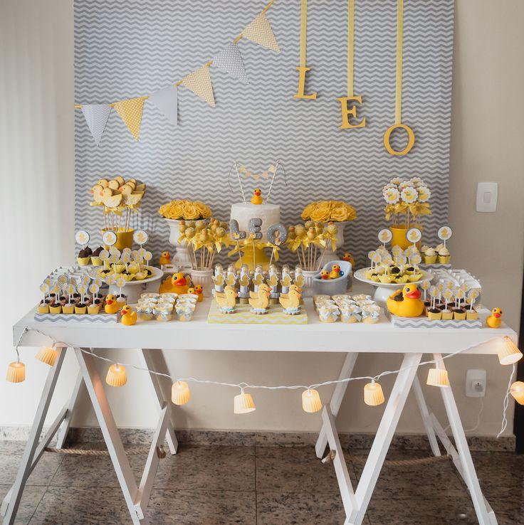 15 Dicas para fazer uma LINDA decoraç u00e3o de Chá de Beb u00ea BARATO (OBA!) # Decoração Cha De Bebe Com Papel Crepom