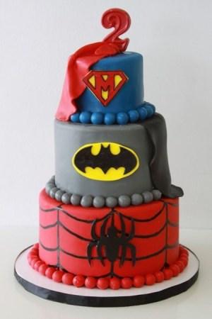 bolo-homem-aranha-batman-super