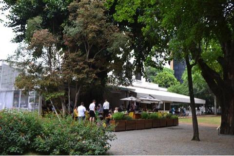 restaurante - Santinho no Museu da Casa Brasileira