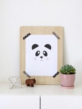 poster-quartos-infantis-panda