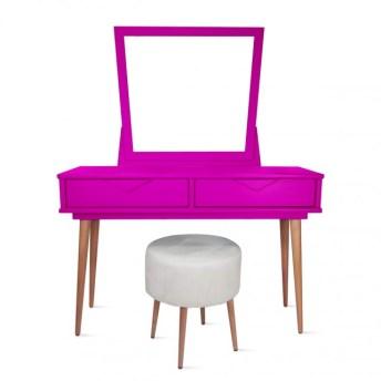 quarto-de-menina-penteadeira-pink