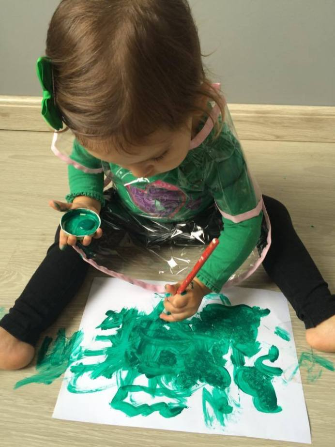 atividades-infantis-pintura-cores-verde