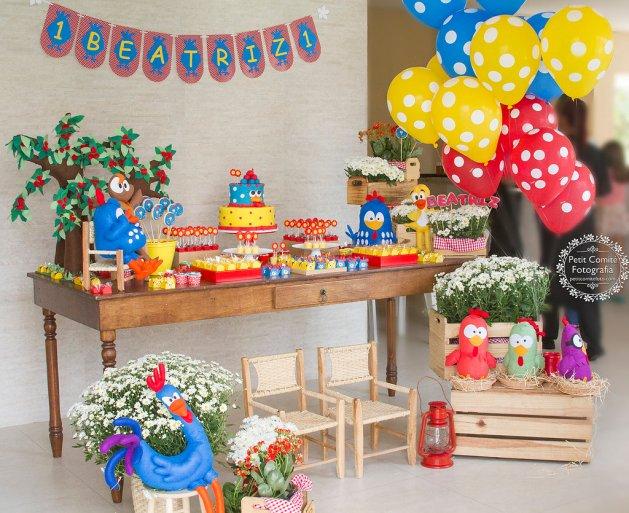 Festa Galinha Pintadinha Sem Segredos Saiba Como Fazer -> Decoração Festa Infantil Galinha Pintadinha Simples
