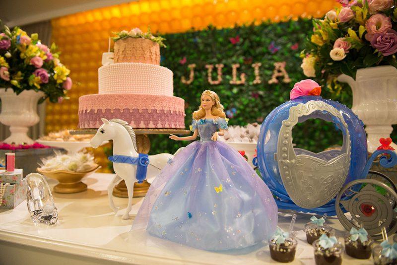 84242acfaa4 Festa Infantil Cinderela  Digna de Uma Princesinha!