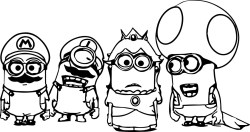 Minions-Coloring-Pages