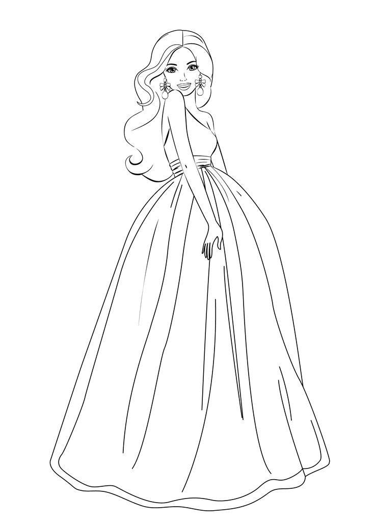 desenhos-para-pintar-barbie