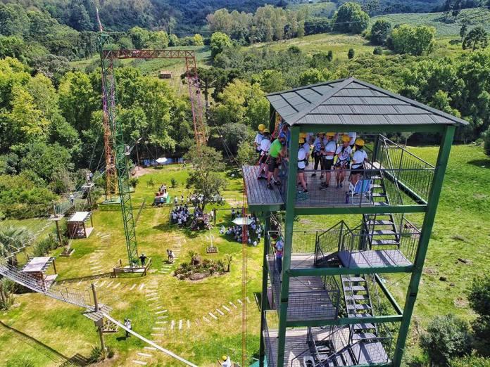 passeios-bento-goncalves-com-criancas-Caminho da Aventura Parque