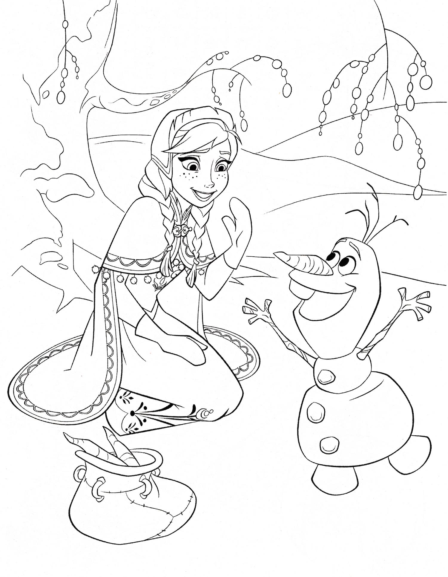 desenhos-para-colorir-frozen-ana-olaf