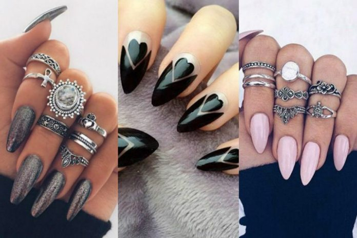unhas-decoradas-stiletto