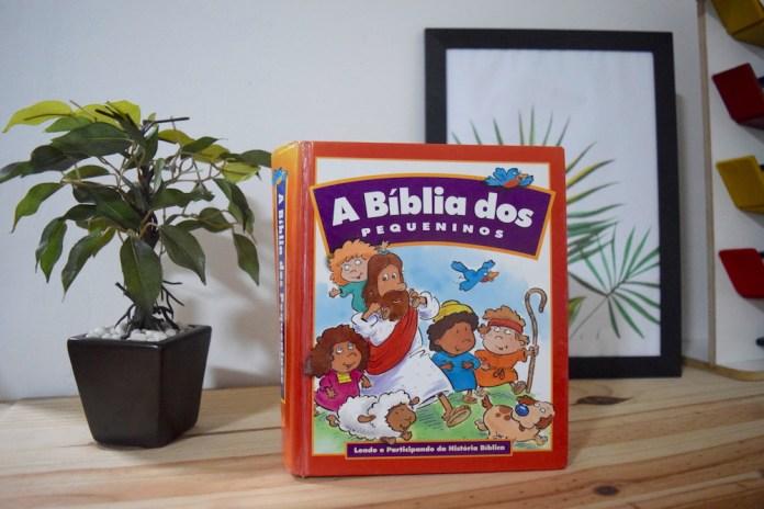 dica de bíblia infantil