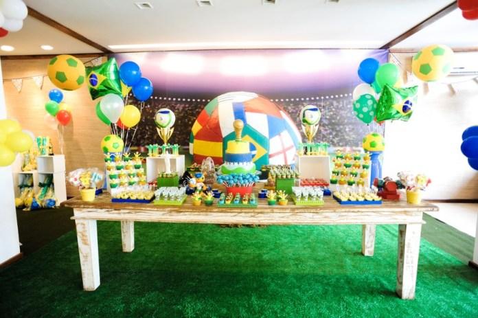 Festa Infantil tema Copa do Mundo