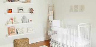 decoração quarto de bebê simples