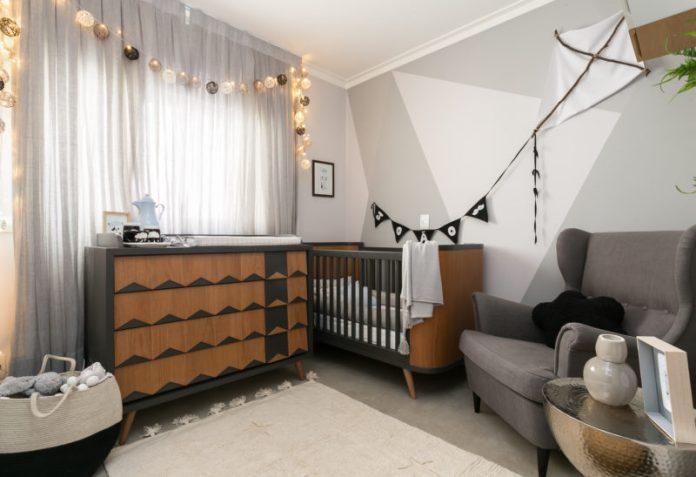 Inspiração para quarto de bebê menino