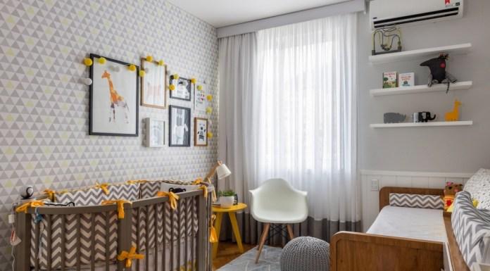 dicas para escolher o papel de parede para o quarto do bebê