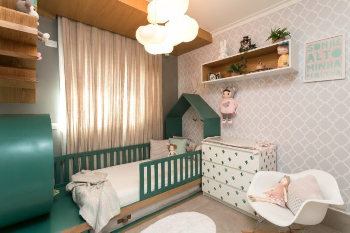inspiração para quarto de bebê menina