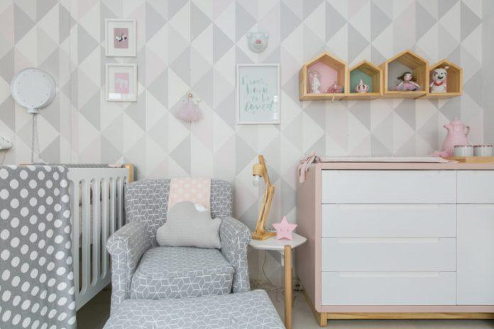 decoração para quarto de bebê escandinavo