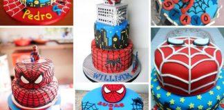 receita de bolo homem aranha