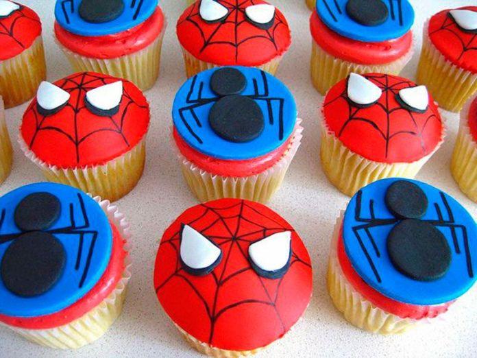 cupcakes para festa infantil homem aranha