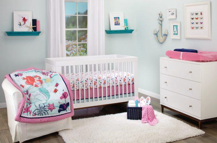 quarto de bebê de menina