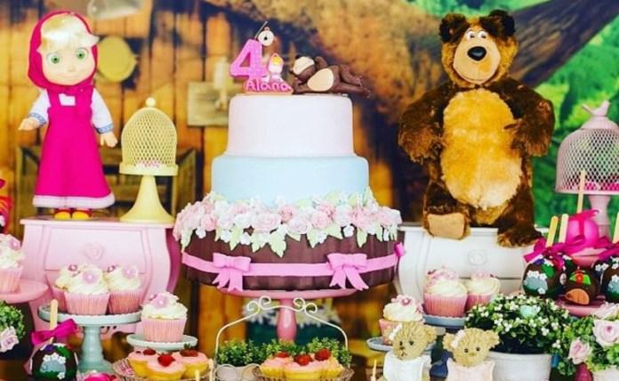 Festa Masha e o Urso