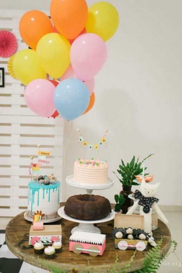 Ideias baratas para festas infantis