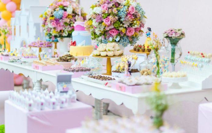 festa infantil com mesa provençal