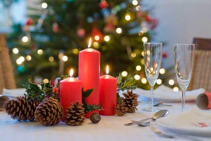 decoração da casa para Natal