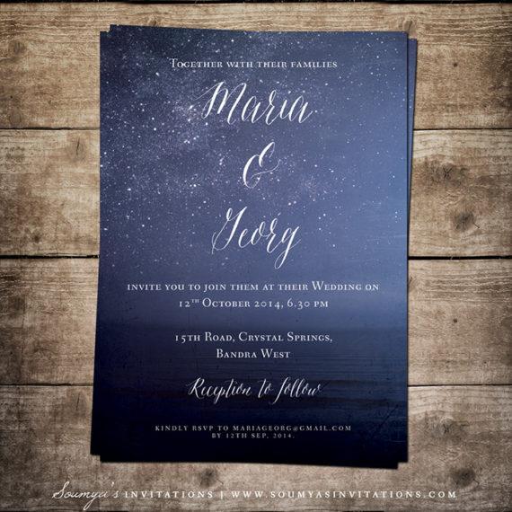 Vera Vintage Black And White Wedding Invitation