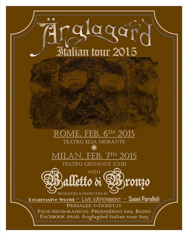 ÄNGLAGÅRD Live In Italia 2015