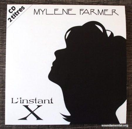 Mylène Farmer - L'instant X (Collector erreur d'impression) - Recto pochette