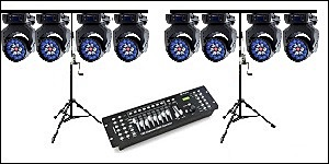 Lighting hire packages