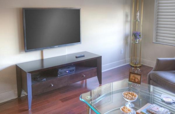 Non Invasive Tv Wall Mount Sound Vision