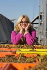 Jennie on her farm in Maryland