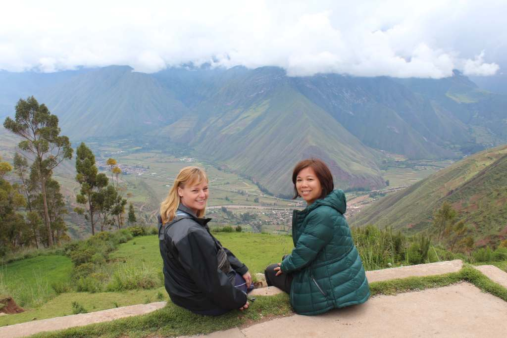 Looking out over the Sacred Valley