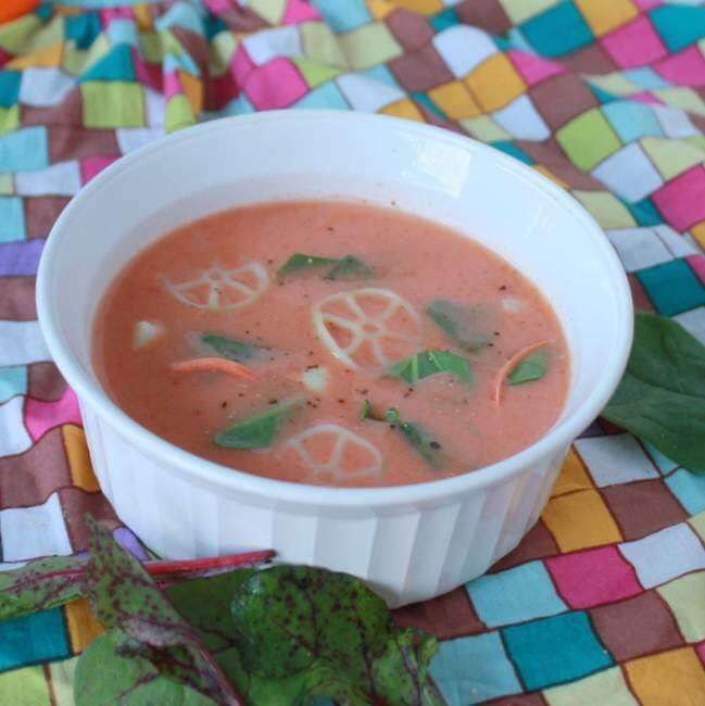 jazz up canned tomato soup