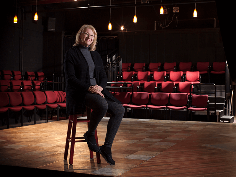 Gail at Heartland Theatre