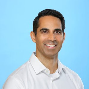 Dr. Vineet Nair, Physician and author of Healthier You: A Family Doctor's Guide to the Fundamentals of Better Living