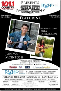 Shake The Foundation IV featuring Jordan McIntosh, Brea Lawrenson and more..