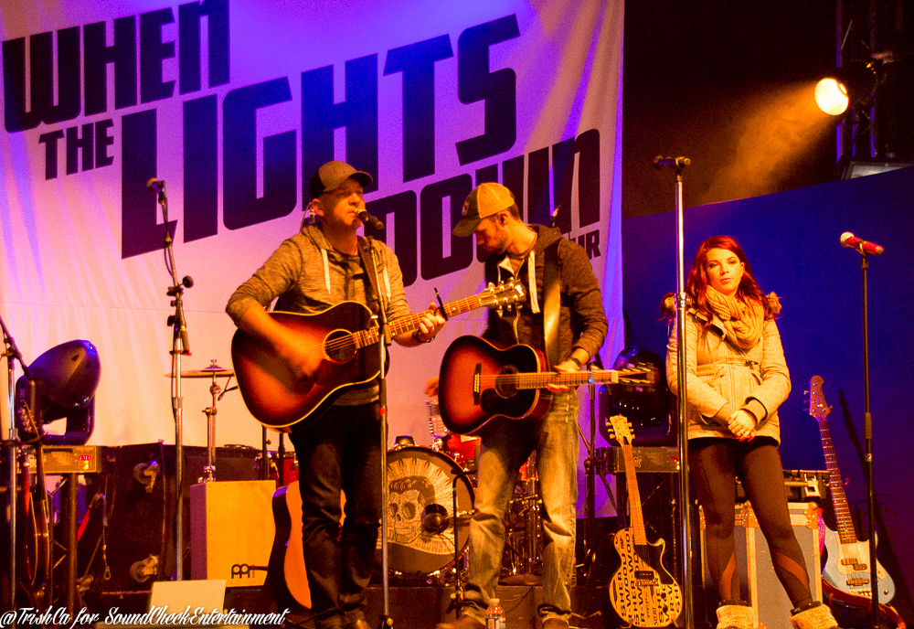 WTLGD When the Lights Go Down Chad Brownlee Jess Moskaluke Bobby Wills VIP soundcheck