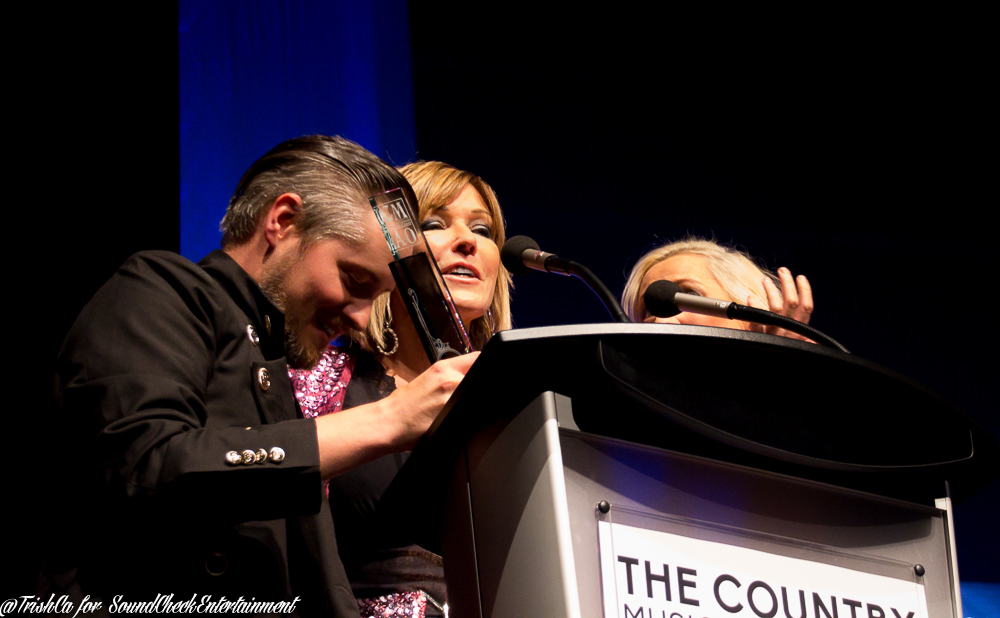 Songwriter of the year Patricia Conry and Small Town Pistols CMAO Awards 2015-4010