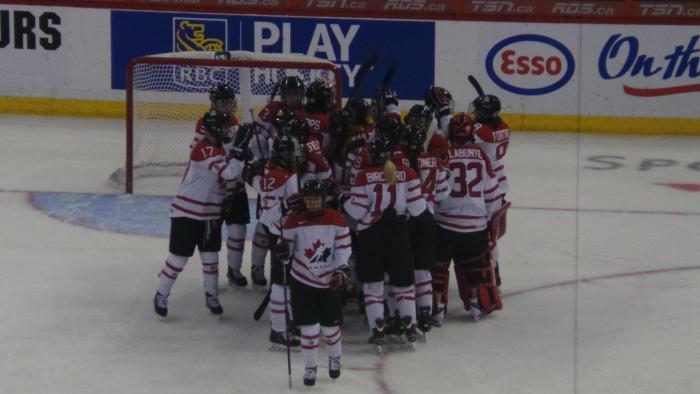 2013 IIHF Women's World Championships Team Canada