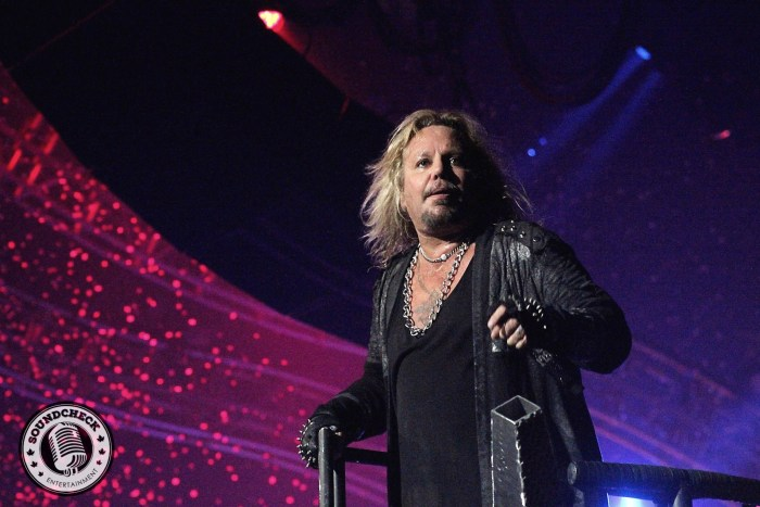 Vince Neil - photo by Jason Marshall for Sound Check Entertainment
