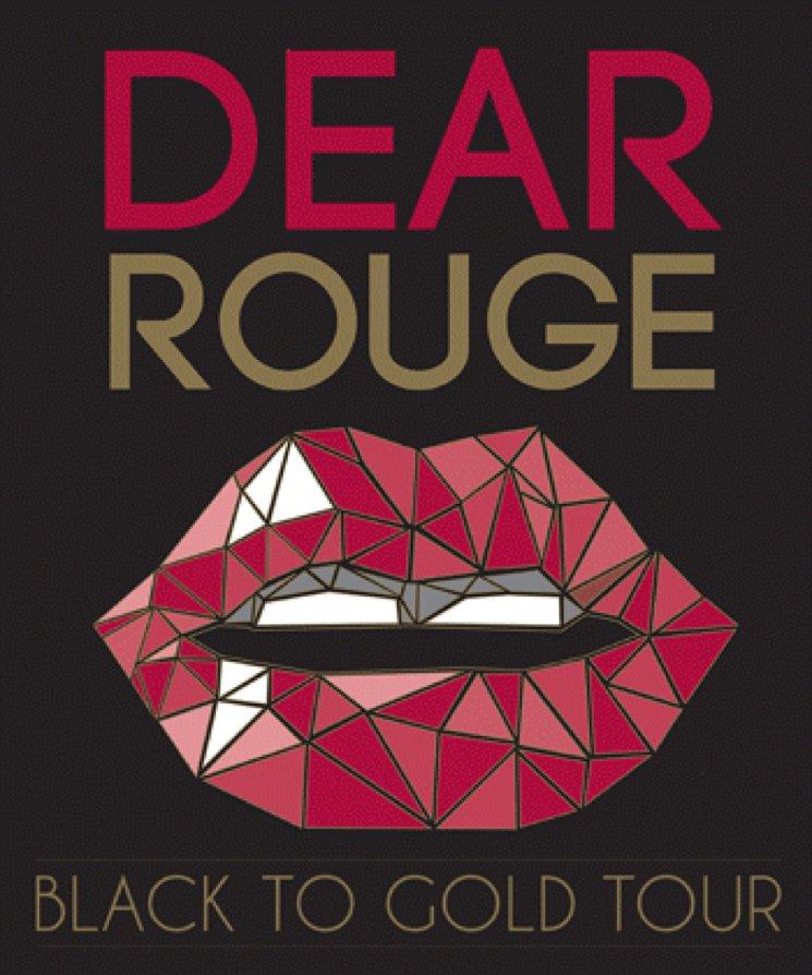 DEAR ROUGE - BLACK TO GOLD LYRICS