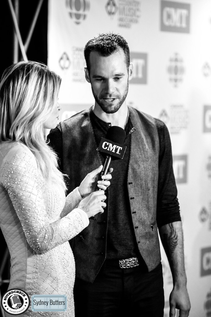 Chad Brownlee @ CCMA Green Carpet 2015 - Admit 1 Photography