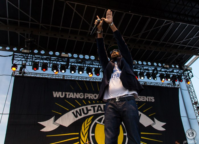 Wu-Tang Clan Riot Fest 2015