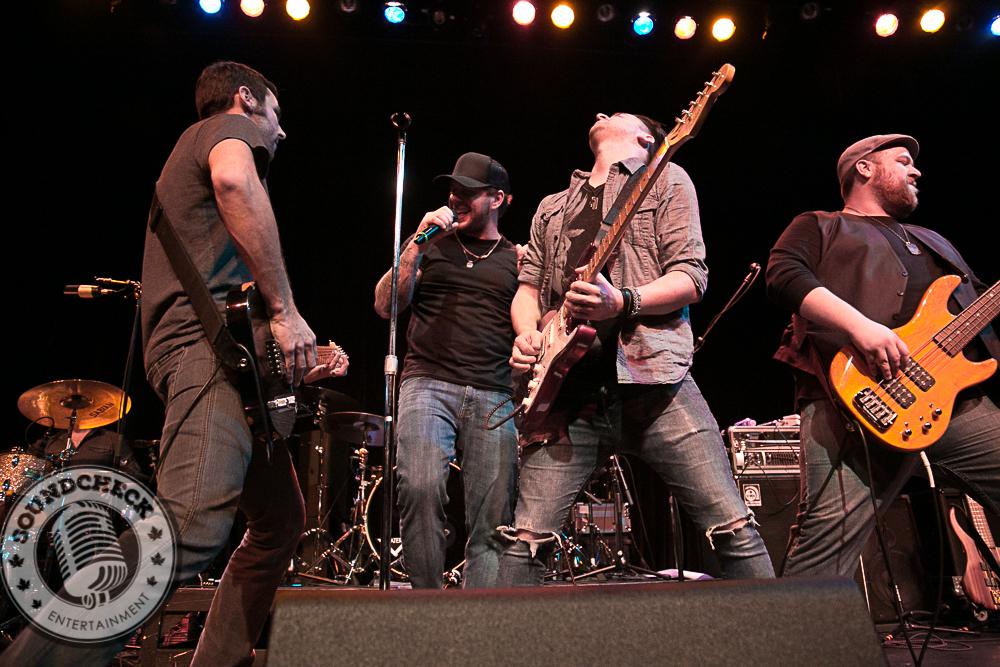River Town Saints rock the Molson Canadian Studio in Hamilton - Photo: Ray Williams