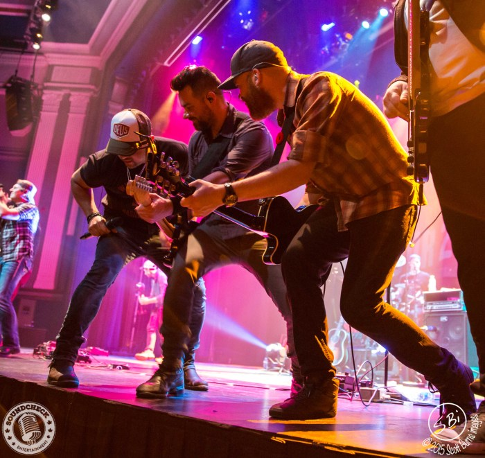 Tebey performs on the Three's A Party Tour in Oshawa at The Regent Theatre - Photo: Scott Burns Images