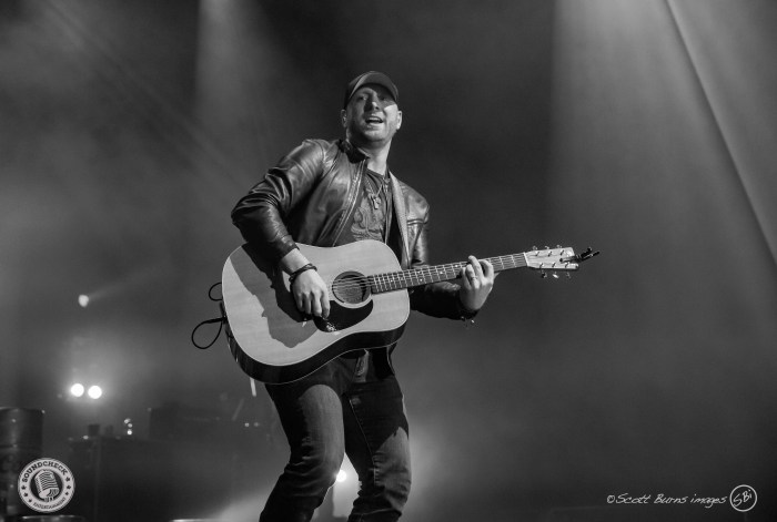Tim Hicks performs to a packed house on the final date of the Get A Little Crazy Tour in Oshawa - Photo: Scott Burns