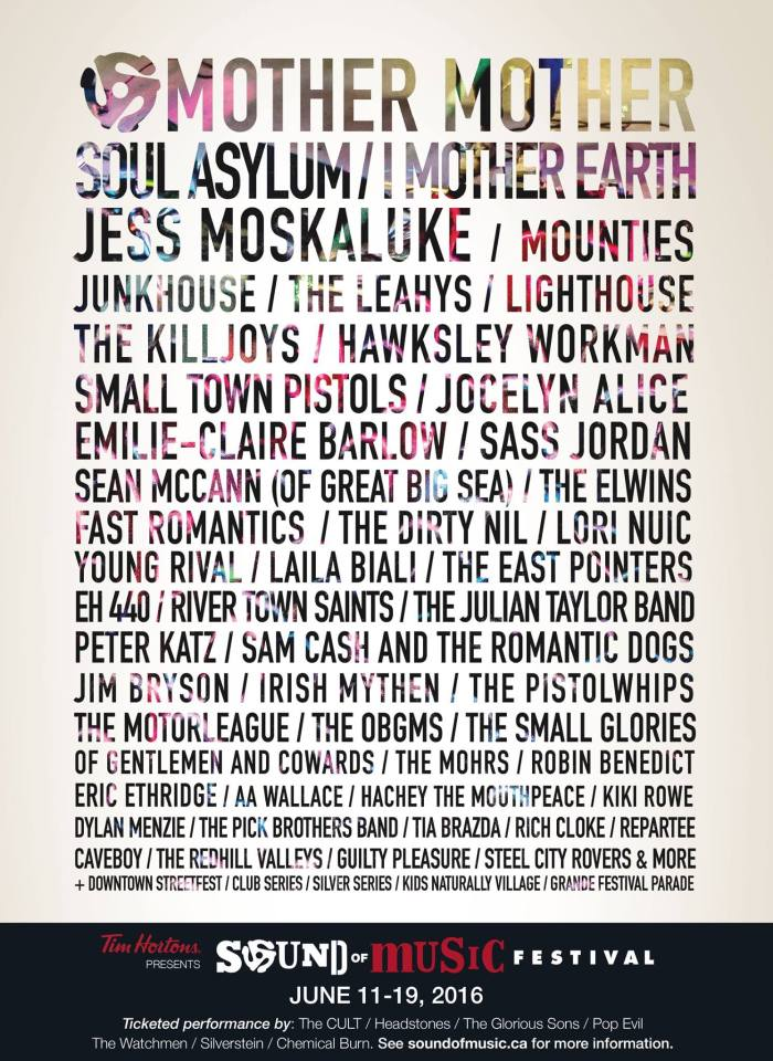 SOMF LINEUP2016